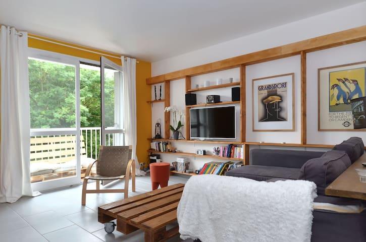 Appartement chaleureux et lumineux  - Vaux-le-Pénil - Apartemen