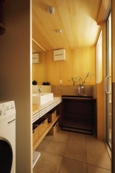Relax in our design and elegant bathroom.