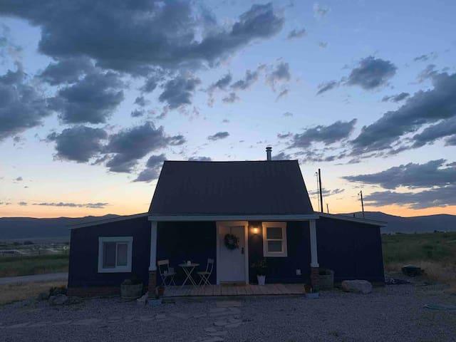 Farmhouse with Private Hot Tub