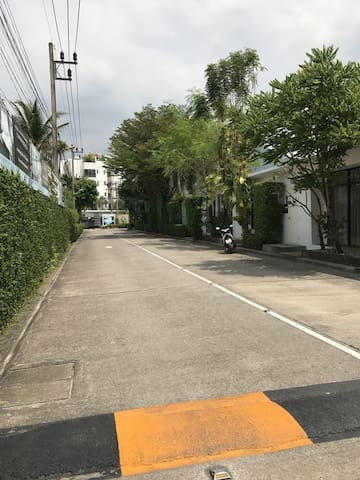 Pathway leading to The Regent Condo