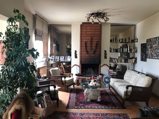 Quiet // Cozy // Eclectic Home // Private Room