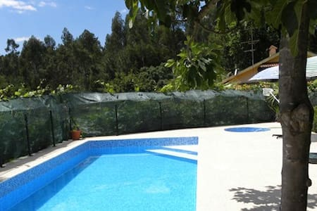House T1 with shared Swimingpool - Estação - Hus