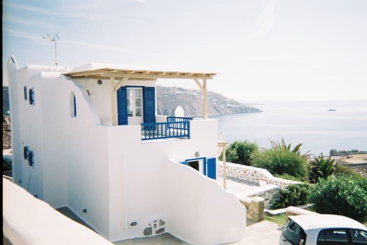 3BR Villa Amazing View, Mykonos - Ornos - วิลล่า