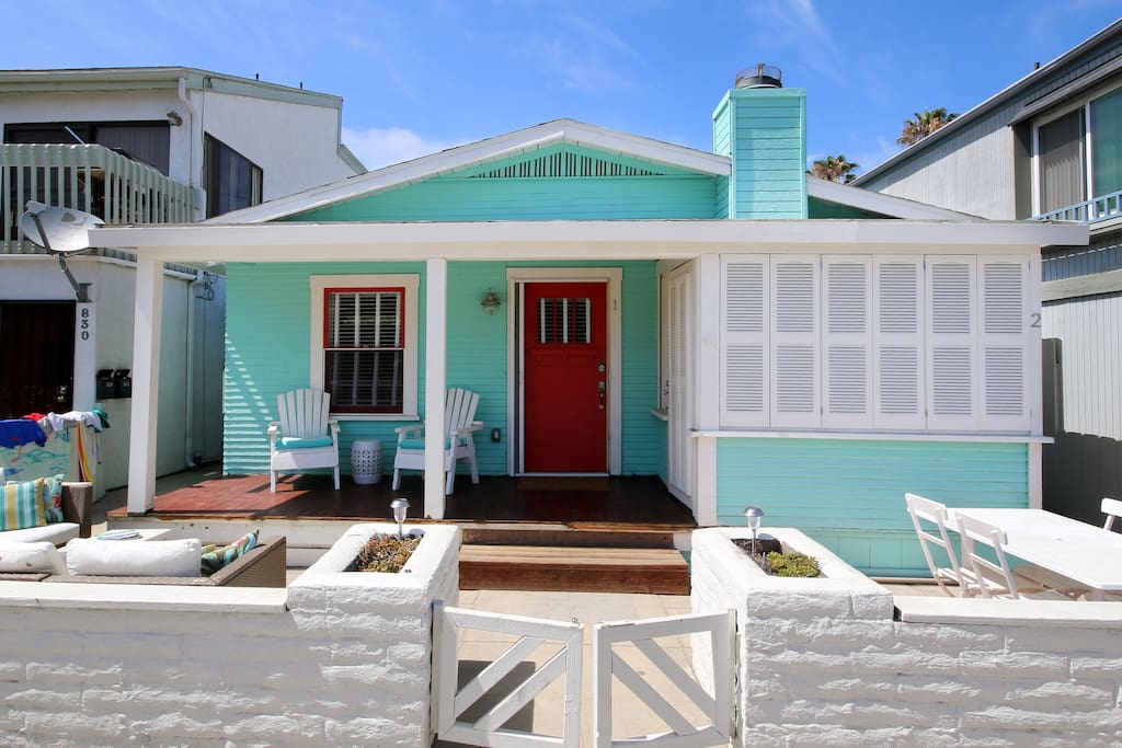 Amazing Cottage 1 Steps From The Ocean Bay Houses For Rent In San Diego California United