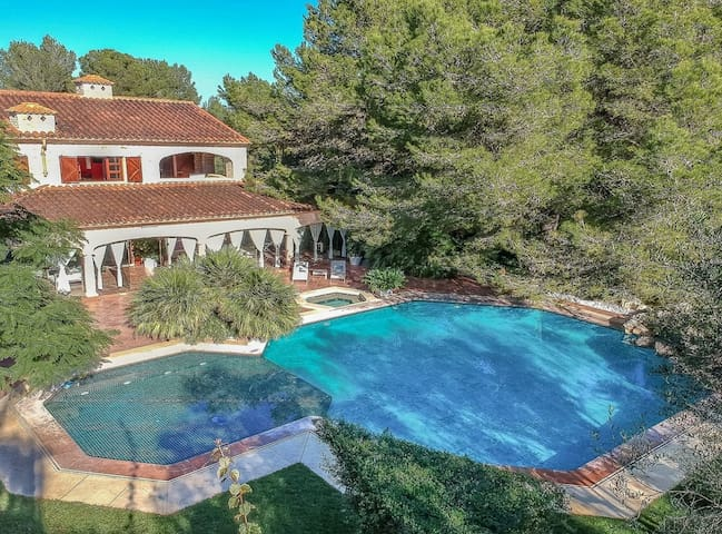 Villa Son Menusset, piscina privada, wifi,