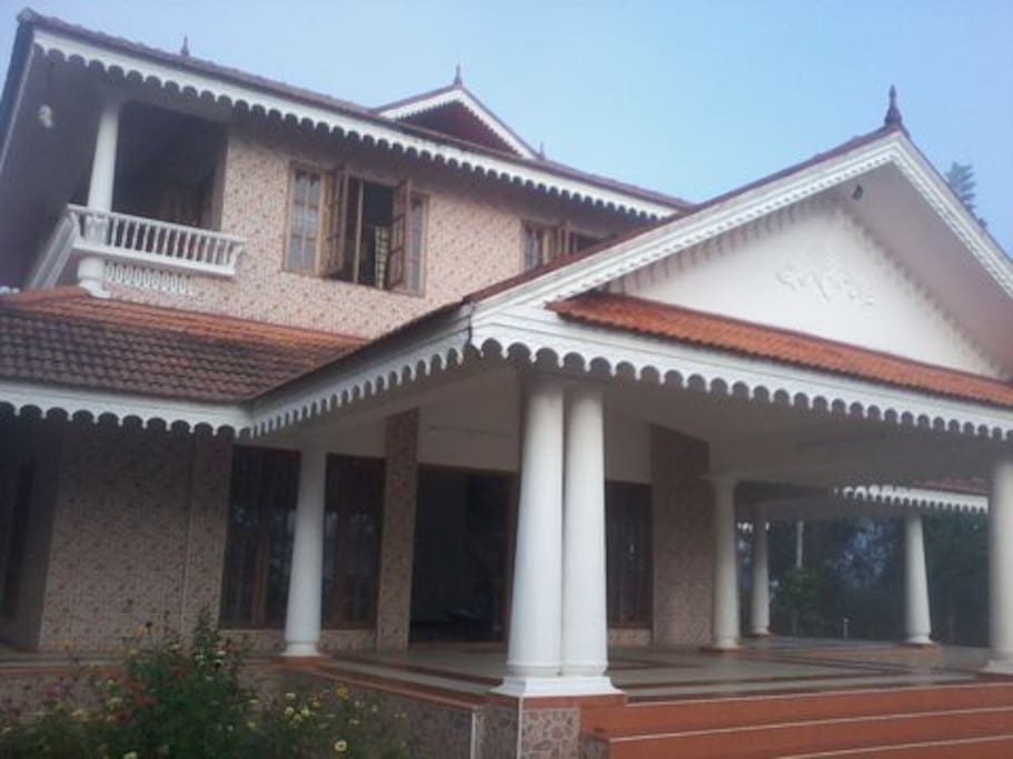 Elevation (Front view) of the House 2