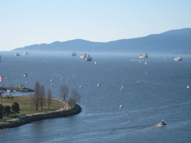 English Bay Million $ Ocean View +free DT parking