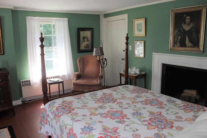 David's room.