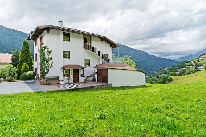Simplistic Apartment in Fließ near Gachenblick Mountain