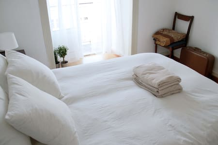 Bright Double Bedroom - Lisbon Center - Lisboa - Appartement