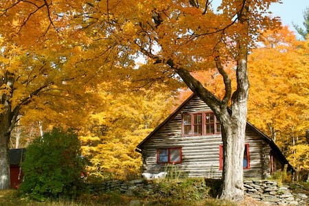 Super private old-school cabin on a working farm - Newfane - House