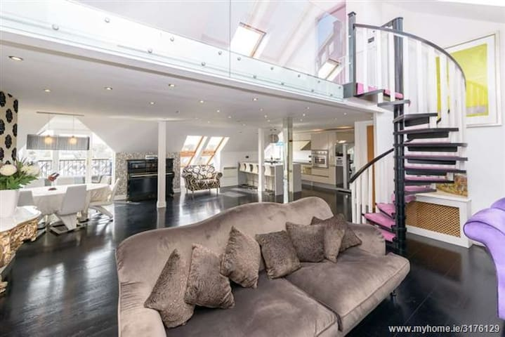 1,800 sq ft, Luxury Penthouse near all amenities. - Malahide - Daire