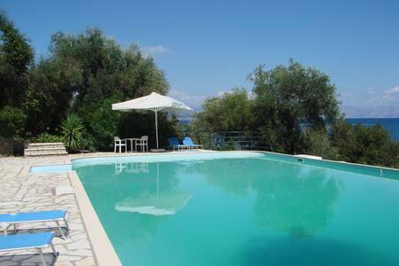 Villa Corfu Beach Front - Corfu - Villa