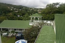 My Father's Place, view to Marigot