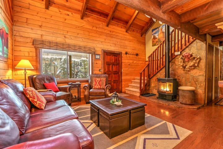 Great for Families; Wildlife Views; Tree Fort! Webb Cabin