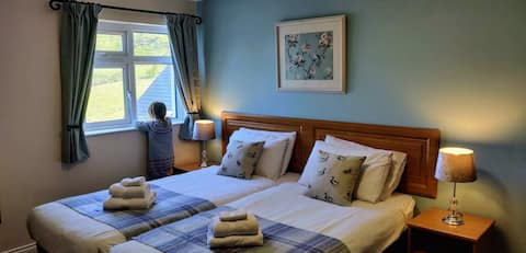 Ballygally bay apartment with amazing views