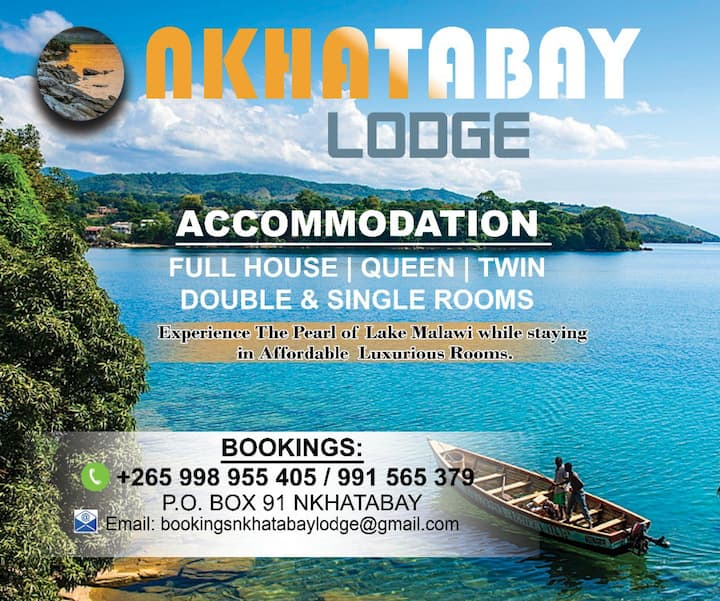 Nkhatabay Bay Lodge Full House