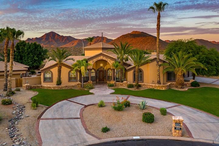 6Br/5bath-Multimillion Dollar Resort in Scottsdale
