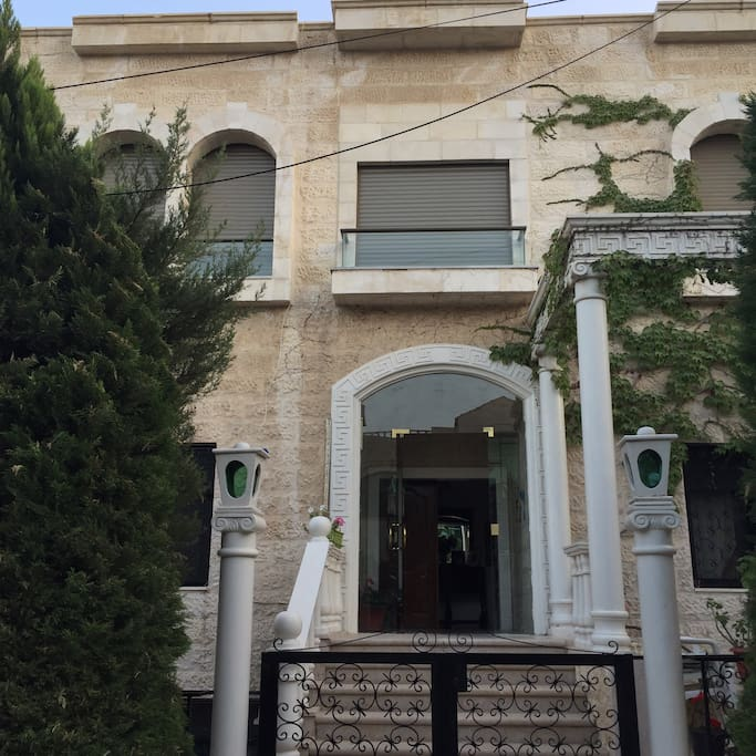 2nd floor apartment of a beautiful private villa in a calm upper neighborhood in Amman