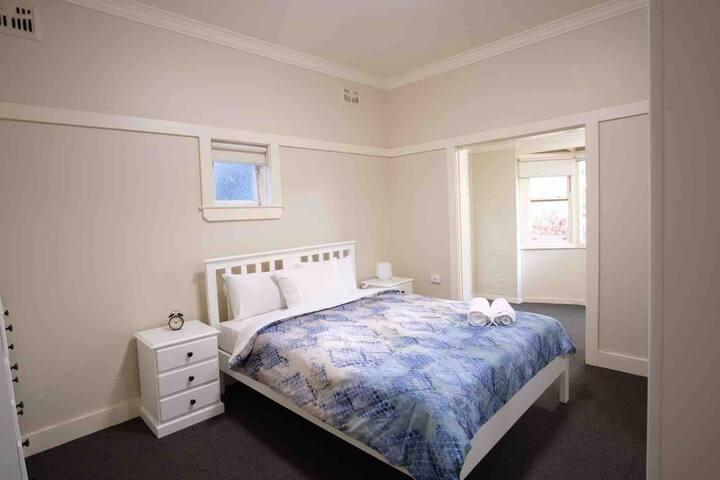 Sally's Bondi Beach apartment.
