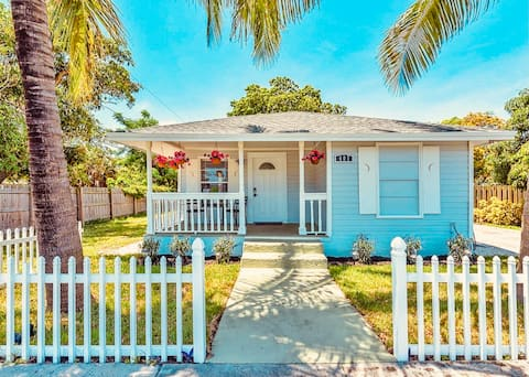 ❤️❤️Historic Cottage Steps From Downtown Delray❤️❤️