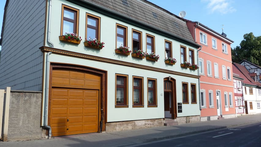 Ansicht unseres Hauses