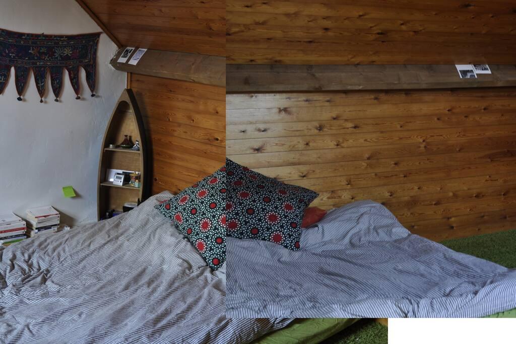 Grande chambre dans maison avec jardin uccle maisons - Maison a louer avec jardin wasquehal dijon ...