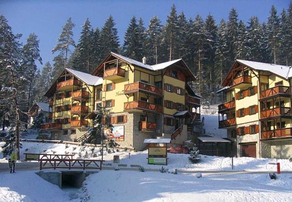 Vila Helena, Hrabovo, ski resort Ruzomberok - Malino Brdo