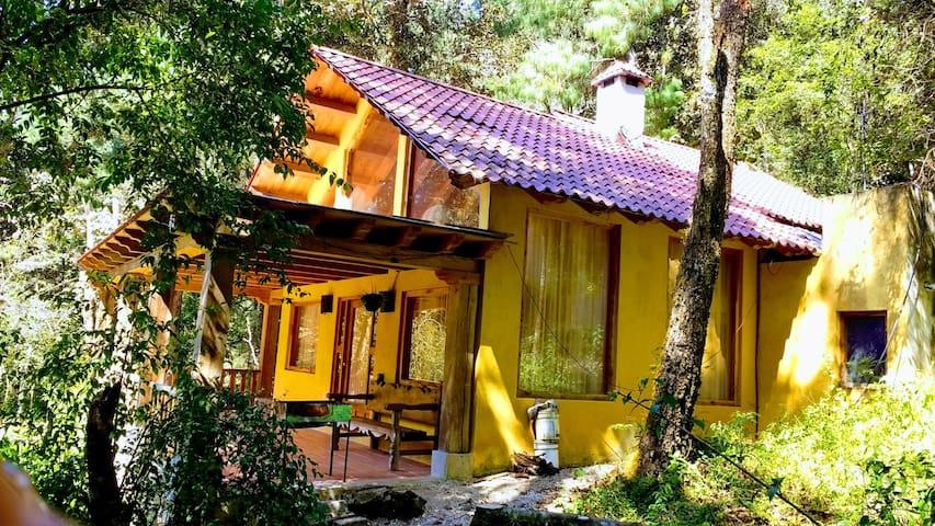¡Hermosa cabaña en San Cristóbal!