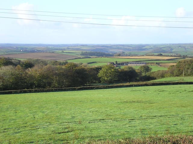 View from the Old Wheelwright's Workshop