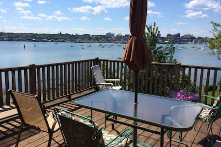 Private Suite with deck/view/ocean access! - South Portland - Maison