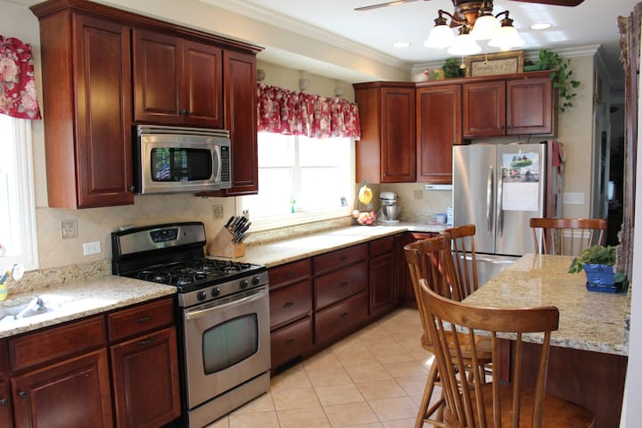 Comfortable, homey, private space   - Morton Grove - Huis