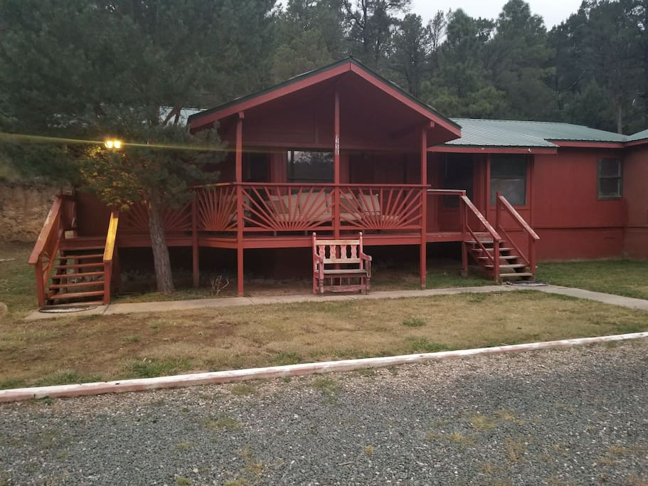 Simple life cabins for rent in ruidoso new mexico for 6 bedroom cabins in ruidoso nm