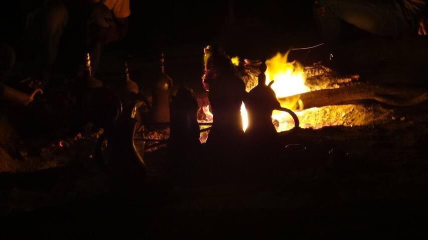 Yahala Camp Salm - Sde Boker - Tenda