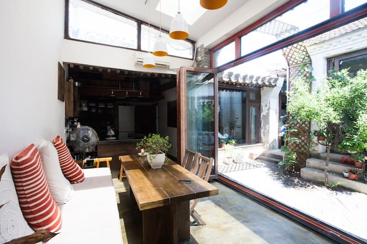 Gio's Loft in the Hutong Clubhouse' - Beijing - Villa