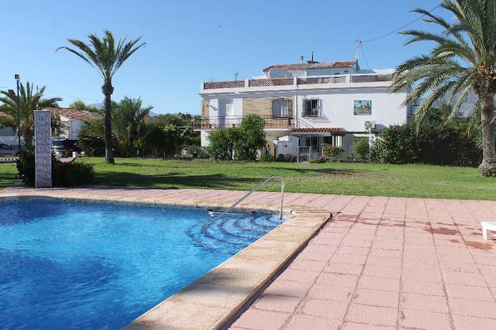 Oasis of calm near the beach in Albir - Limoneros - Huis