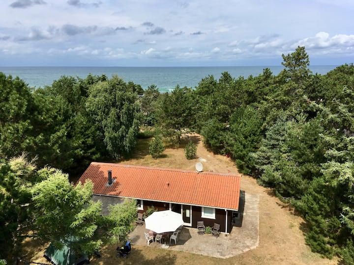 Sommerhus 90 m fra Kattegat