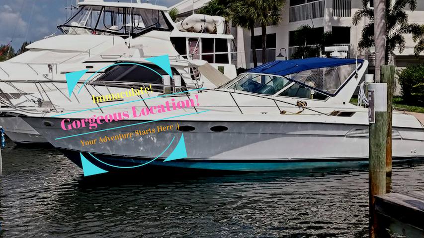 Gorgeous Motor Yacht, Near Beaches, Wifi+ A/C - Placida