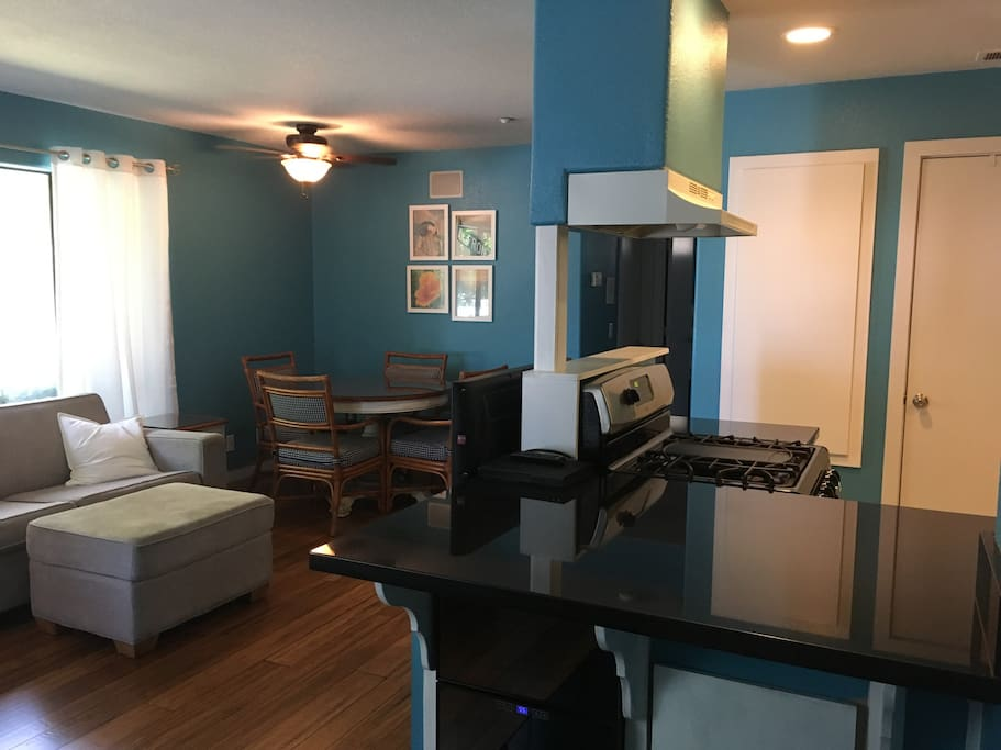 Open Concept - Living/Dining/Kitchen