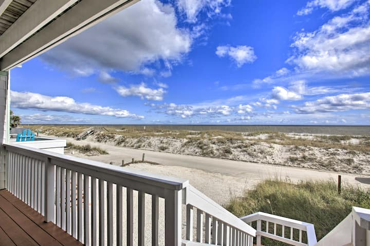 Fernandina Beach Townhome - Walk to Ocean!