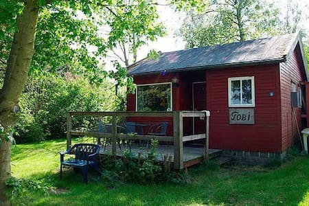 Nice smaller holidayhome! - Allinge - Chatka