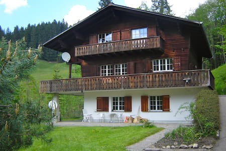 Chalet in the Swiss Mountains - Eriz - Wohnung