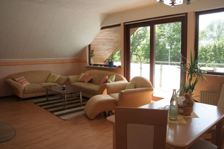 70qm Apartm. 2room/kitch./bath/WLAN