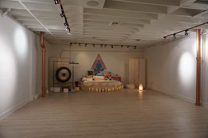 The Yoga Room.