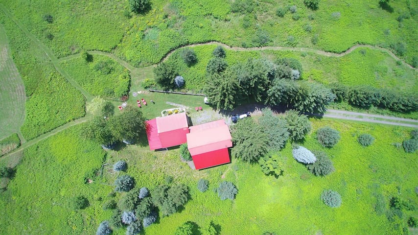 Aerial view - 11 acres of space