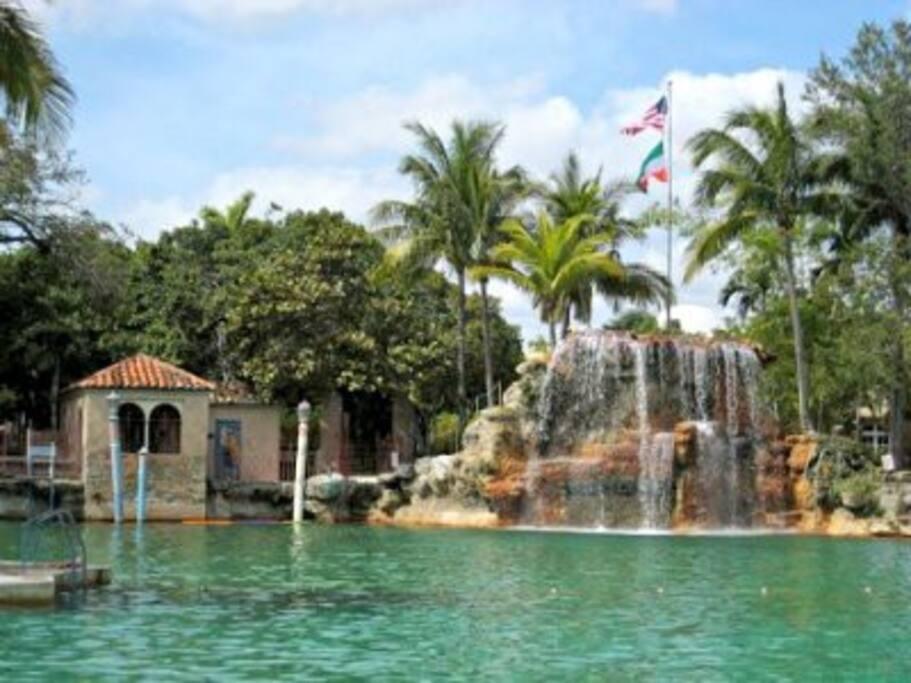 The Neighborhood: Historic Venetian Pool a short walk away...