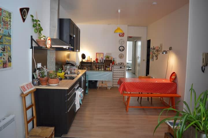 Appartement cosy vieux quartier du port, Redon