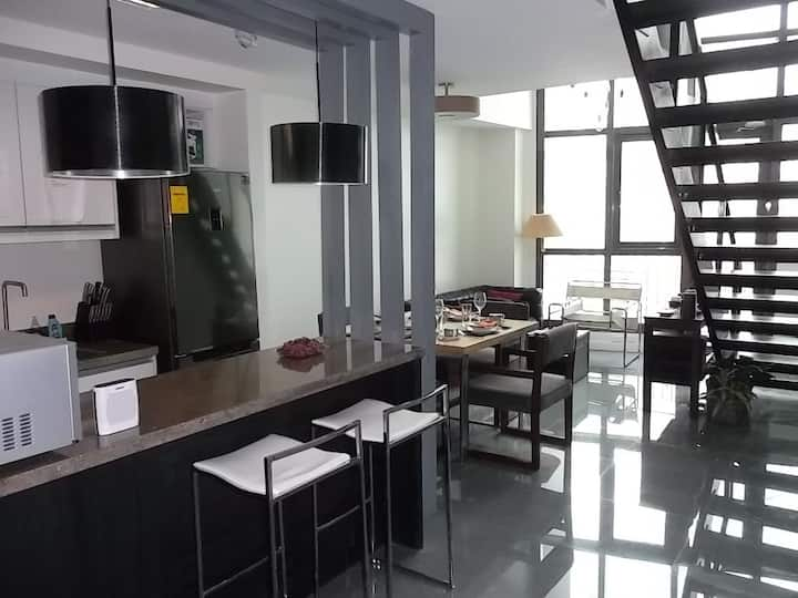 Greenbelt Spaces (2-BR spacious loft in Makati)