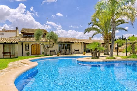 Finca Vela near Muro for 12 Persons with wonderful garden and pool