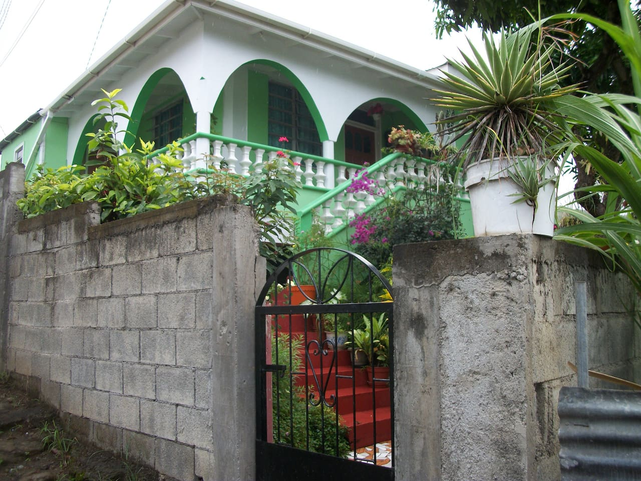 Entrance to Caribbean Holiday Home!